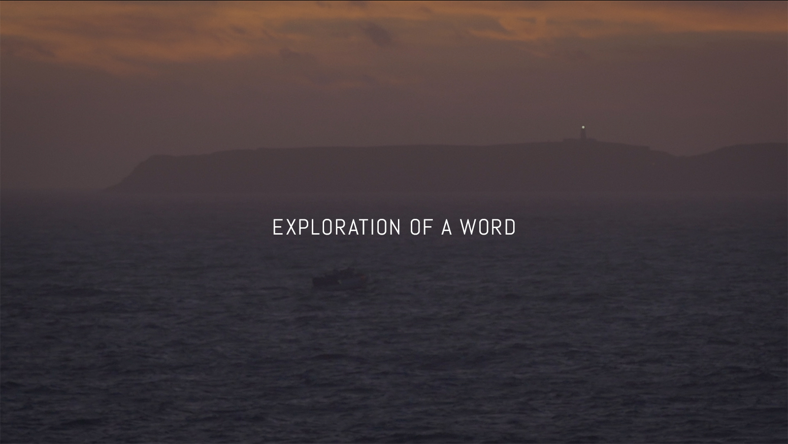 exploratonofaword