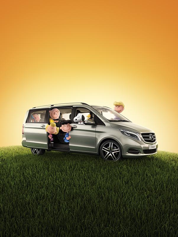 Mercedes Benz x Peanuts